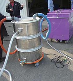汚水分離タンク(200L)
